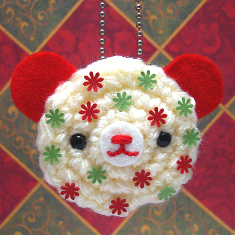 Amigurumi Mini Chocolate Chip Cookie Keychain / Crochet Kawaii ... | 460x460