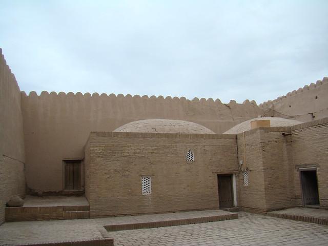 ciudadela fortificada Kunya-Ark Jiva Uzbekistán 10