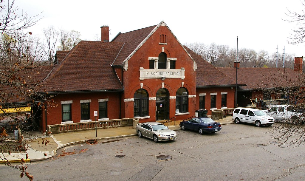 Jefferson City, MO train station | Built in 1890 by Missouri… | Flickr