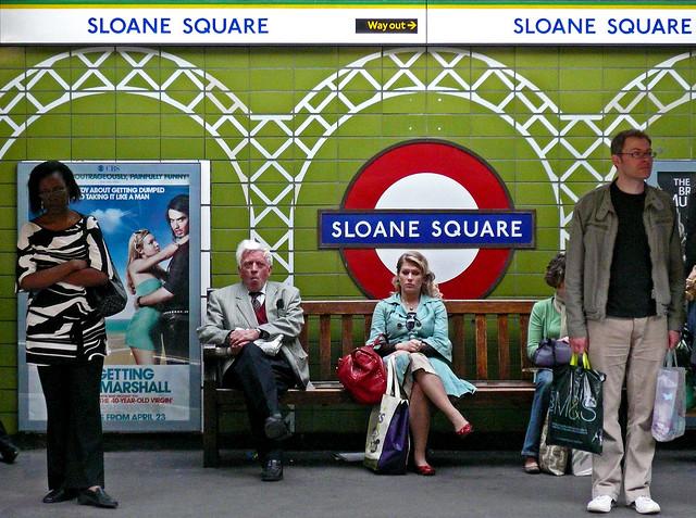 Sloane Square - Homage to Tony Day