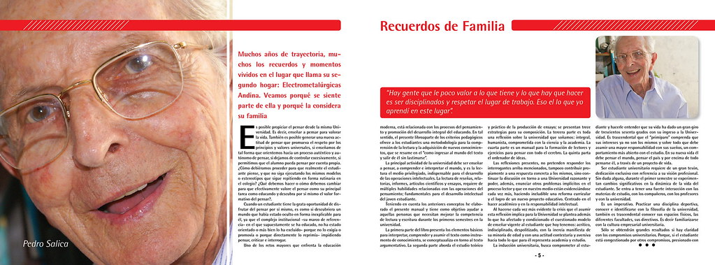House Organ De La Metalurgica Andina Ejercicio Para La Mat