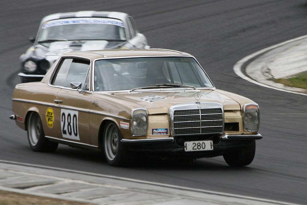 Mercedes Benz 280 | Arrow Wheels series Hampton Downs, NZ ...