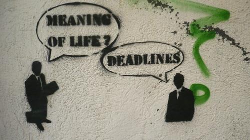 deadlines | by energeticspell