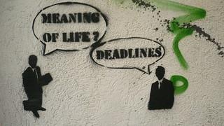 deadlines   by energeticspell