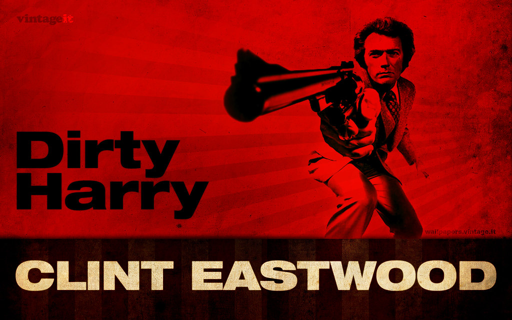 Dirty Harry Clint Eastwood Wallpaper All Screen Formats
