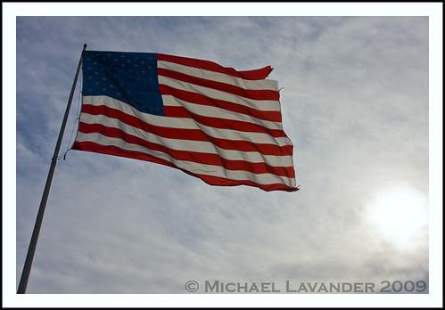 usa america sunrise michigan americanflag westland morining 48185