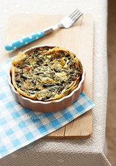 Crisp Spinach Tart | by Whittycute http://www.whittycute.com