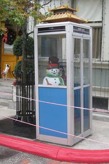 Snowman & Dalmation