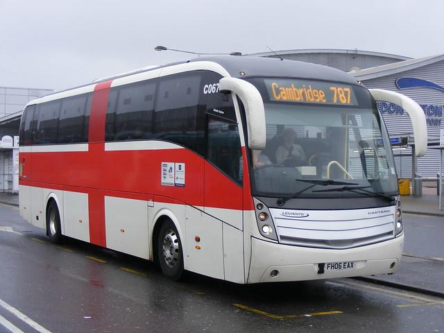 National Express: FH06EAX Volvo B12B/Caetano Levante Luton Airport