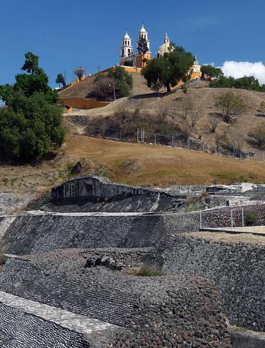 A17 Cholula pyramid