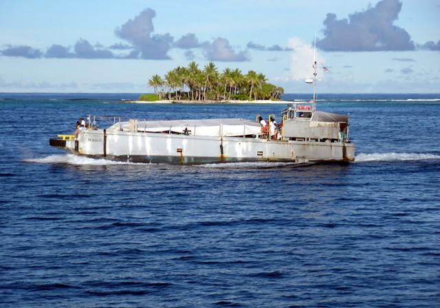 Ebeye Ferry - Kwajalein