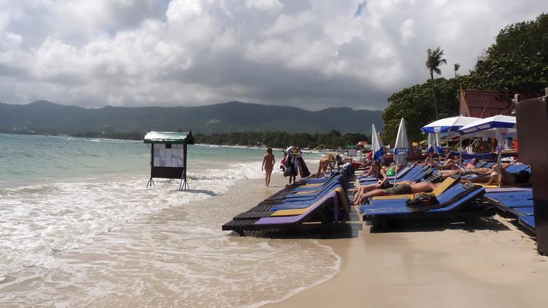 Koh Samui Chaweng Beach Center コサムイ チャウエンビーチ中心部0