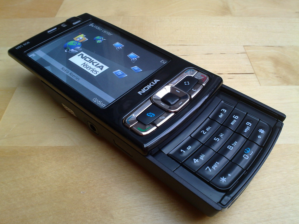 A Nokia Andrew Blog 8gb Supporting Post Photo N95 For This