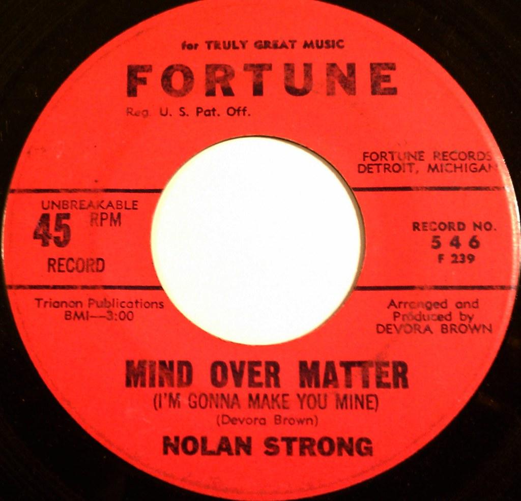 Nolan Strong - Mind Over Matter | Fortune 546 | Brian Baker | Flickr