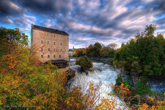 Elora Mill and the Tooth of Time