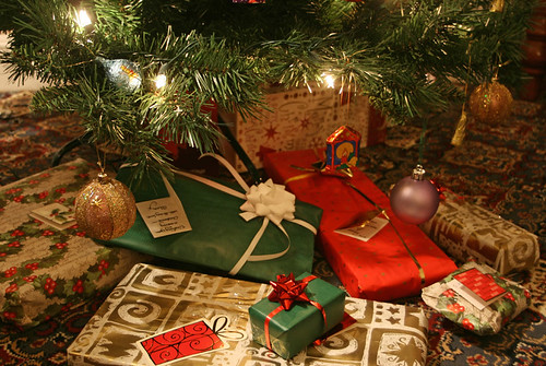 Christmas presents under the tree | by Alan Cleaver