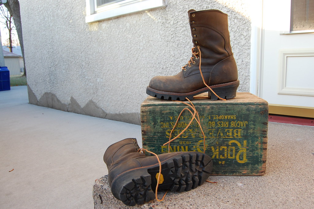 7dbf8fb1782 Redwing 2292 logger boots | 10 inch US made steel toe boot w… | Flickr