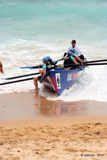 Surf boat crew