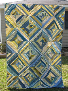 Finished String quilt | by Cut To Pieces