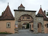 Rothenburg ob der Tauber, Rödertor, foto: Petr Nejedlý