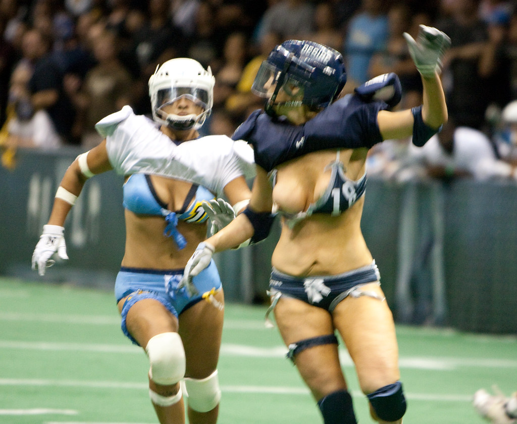 Lingerie Football League Women Nude