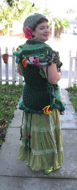 Garden Costume back