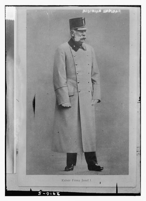 Austrian Emperor, Kaiser Franz Joseph I  (LOC)
