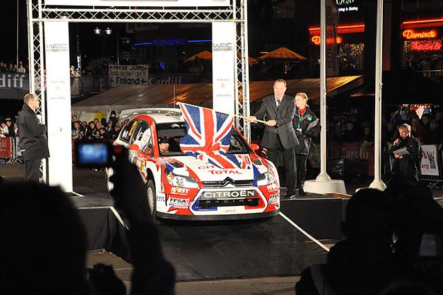 Rally GB start