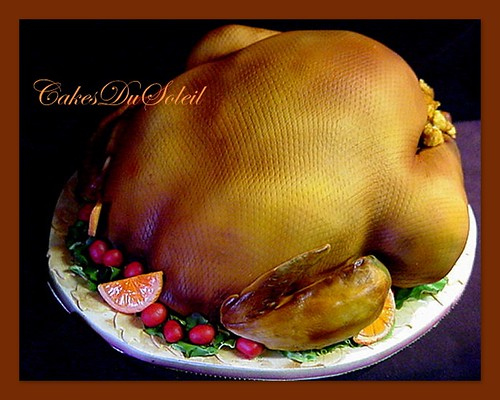 Turkey and all the trimmings...for dessert.