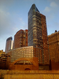 Battery Park City @ Sunset | by Frankenstein