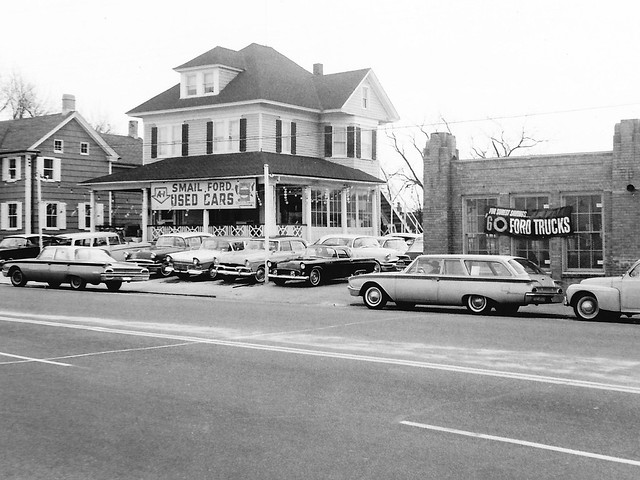 Smail Ford Used Cars, Pleasantville NJ, 1960