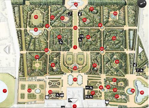 Gardens Of Versailles Map 10