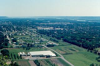 La Crosse - Southwest from Grandad Bluff