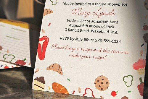 Sweet & Savory Shower Invitation | by Sarah Pellegrini