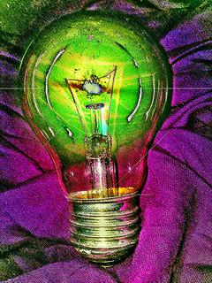 the nuclear lightbulb. | by oXane