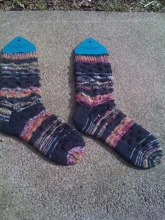 Bellatrix Socks for Sheryl