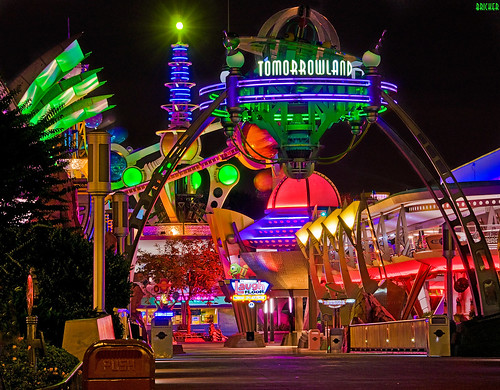 Walt Disney World - Magic Kingdom - Tomorrowland:  The Neon Jungle | by Tom.Bricker