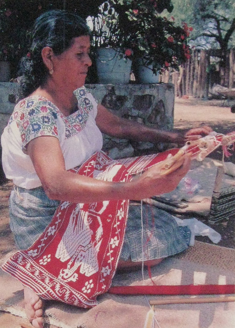 Otomi Weaver Mexico