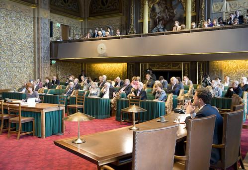 Laatste vergaderdag Eerste Kamer in oude samenstelling | by Minister-president