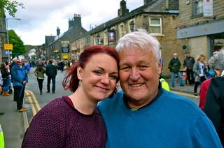 Vicky och Phil - våra duktiga reseledare