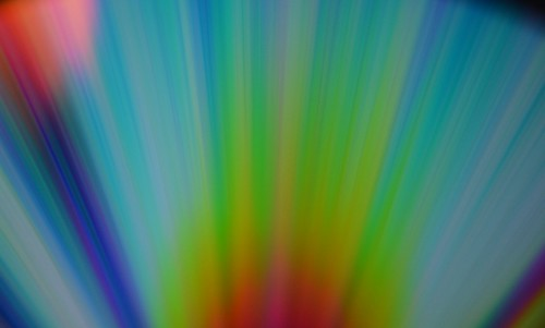 Abstract lights on CD | by unbekannt270