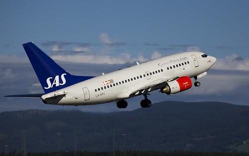 SAS - Boeing 737-600 - LN-RPG - OSL ENGM - 2015-08-01   by Jens Erik Widén