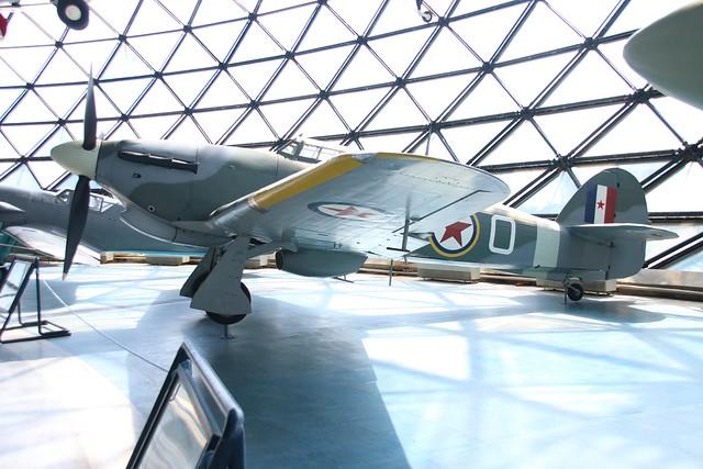Hurricane Mk.IV Aeronautical Museum Belgrade 23.7.15