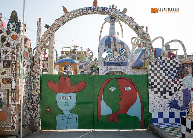 Fusterlandia realizzato dall'artista José Rodríguez Fuster