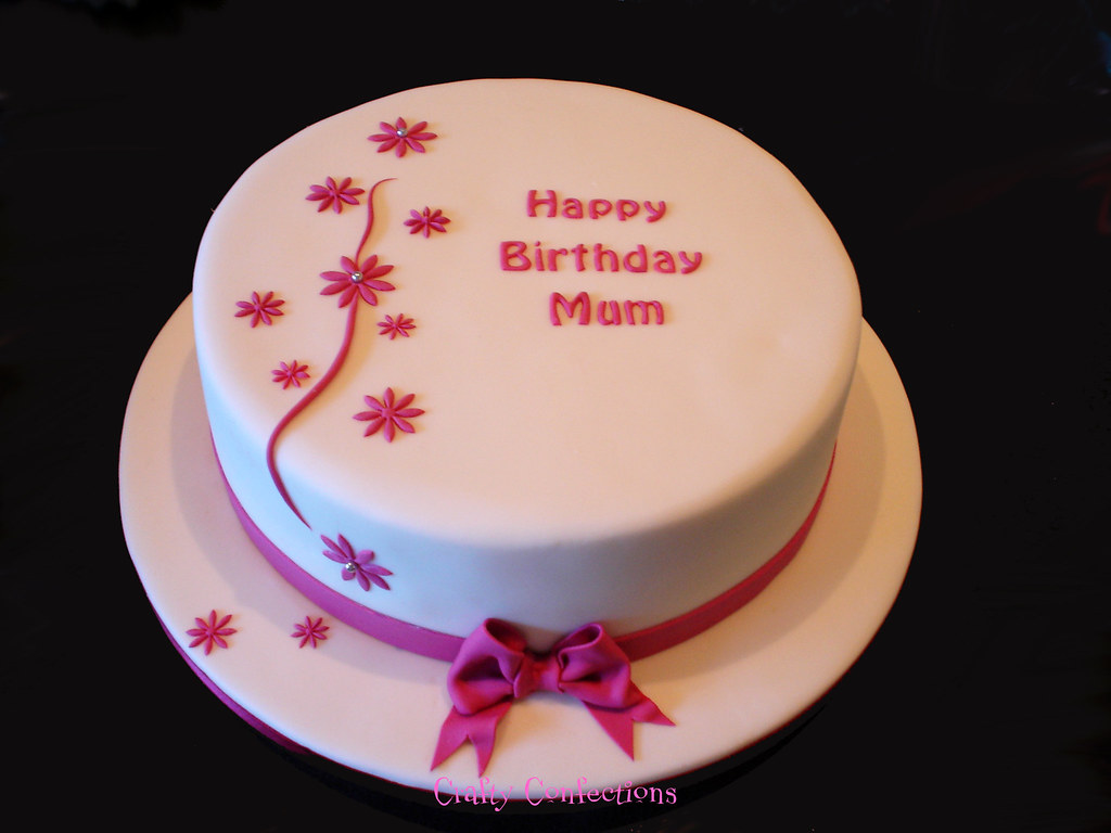 Remarkable Simple Last Minute Birthday Cake This Cake Was Ordered On Flickr Funny Birthday Cards Online Elaedamsfinfo