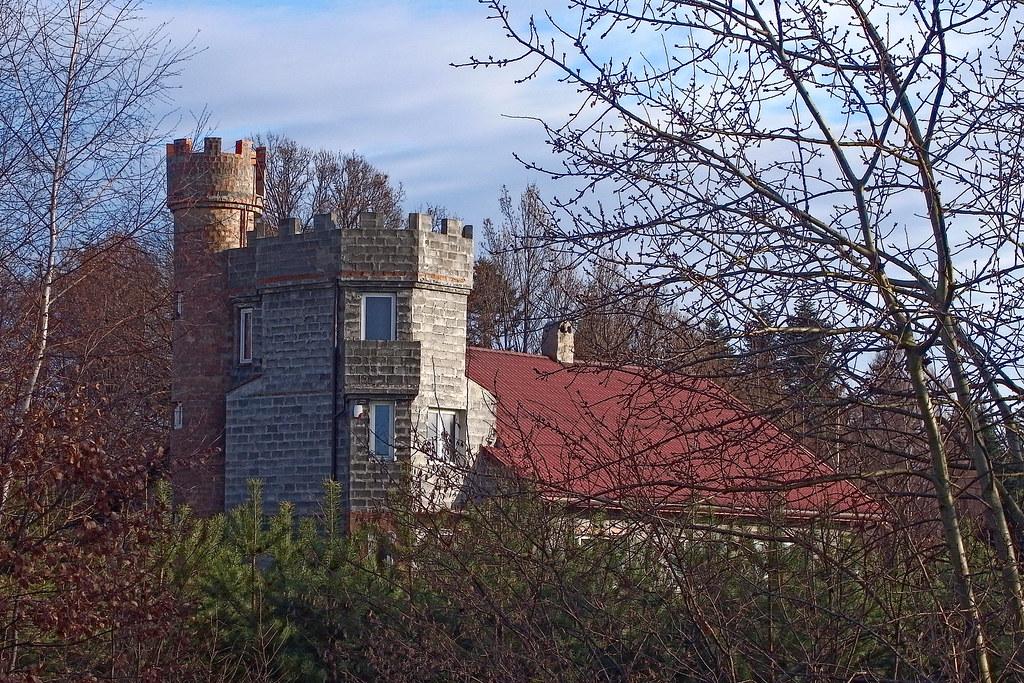 Zamek w Jankówce / Castle in Jankówka