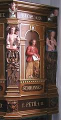 Prædikestol i Sædder Kirke - detalje4
