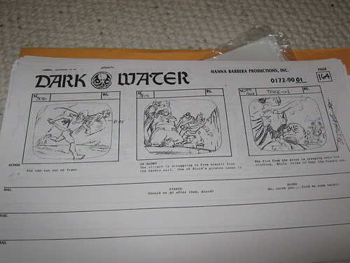 (Pirates of) Dark Water storyboards: Episode 1 - The Quest | by andorus