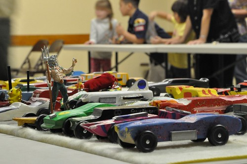 Cub Scout pinewood derby | by Rachael | The Slow-Cooked Sentence