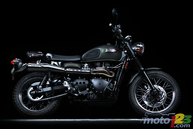 2010 Triumph Scrambler Read A Detailed Review And See The Flickr